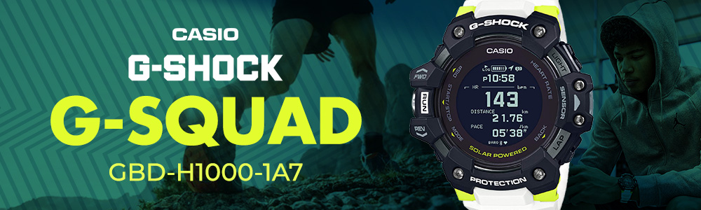 CASIO G-SHOCK G-Squad