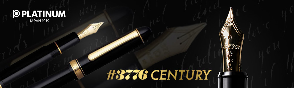 PLATINUM PEN # 3776 Century Music